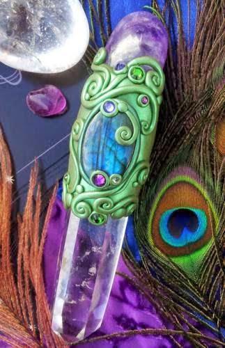 Crystal Healing Wands