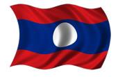 Laos - bandeira para colorir