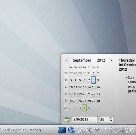 Kubuntu 12.10 Quantal Quetzal - plama applets