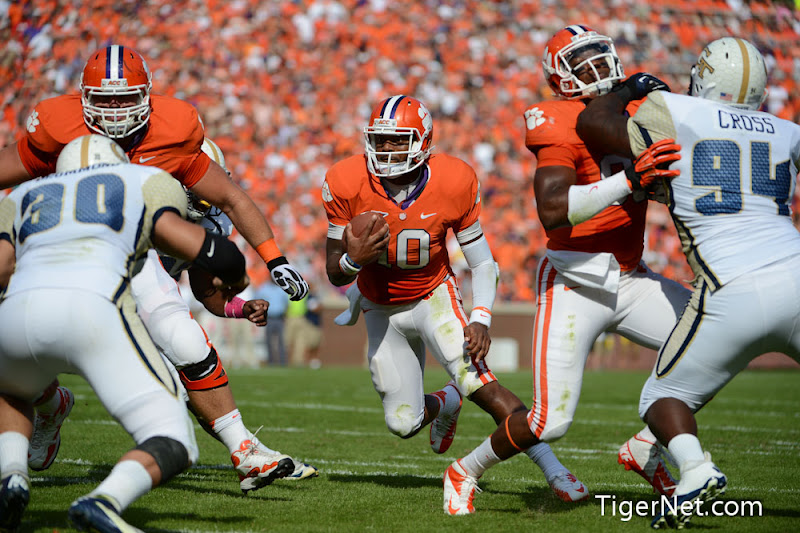 Clemson vs. Georgia Tech Photos - 2012, Football, Georgia Tech, Tajh Boyd