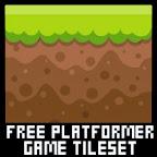 free platformer game tileset