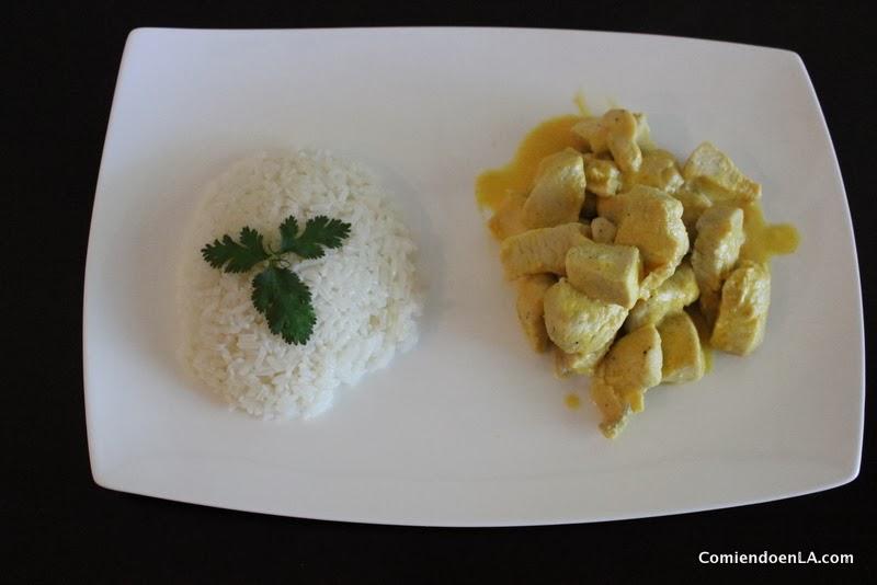 Receta pollo en salsa de maracuyá