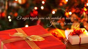 El mejor regalo para esta navidad es recibir a Jesús en tu corazón