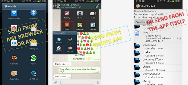How To Share Any FileFormat on Whatsapp