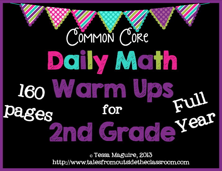 2nd Gr Math Warm up