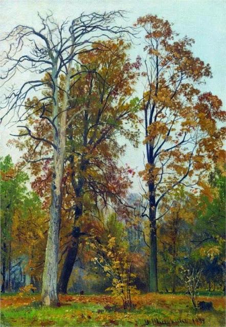 Ivan Shishkin - Autumn, 1894