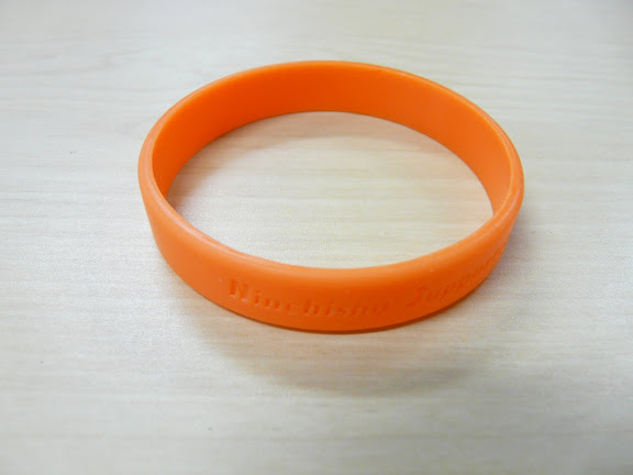 認知症サポーター養成講習を受講した方に配布されるオレンジリング