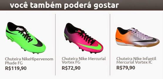Chuteira Nike Mercurial Vortex Infantil. 938438b5cee25
