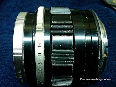 55mm camera, 55mm camera lens 18