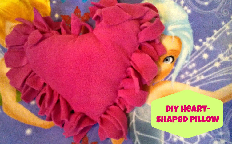"DIY Crafts for Valentine's - ""Torn"" Pillow"