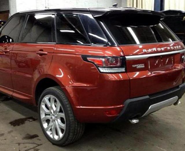 Самый быстрый Range Rover