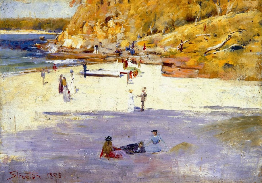 Arthur Streeton - Manly Beach 1895