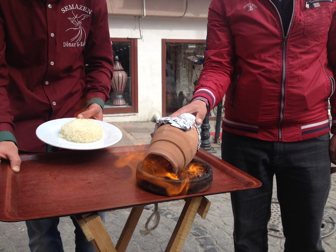 Testi Kebab. Comida típica de Estambul