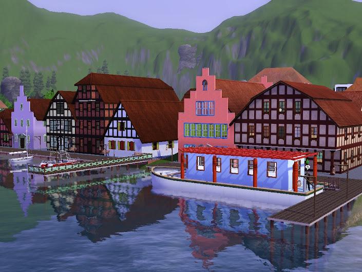port gulfland pływąjący dom