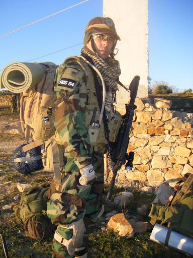 HDS en la Combat training DARK COMPROMISES DSCF7632
