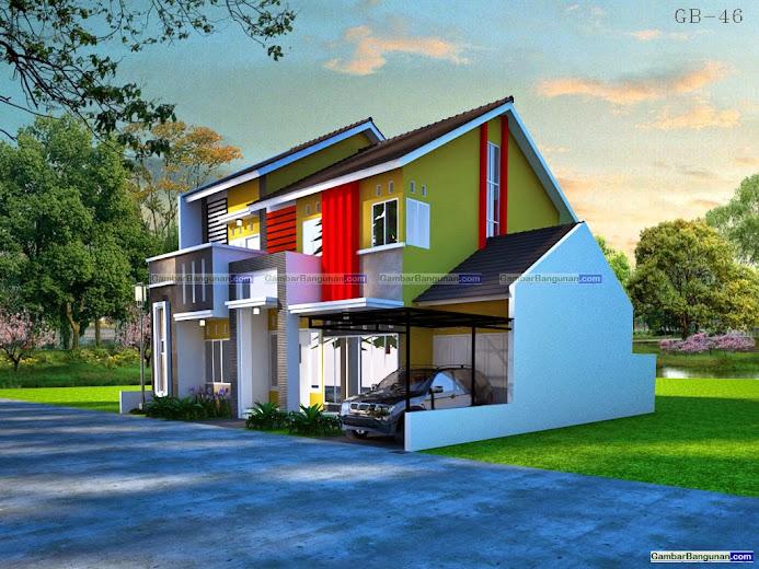 Rumah minimalis modern elegan mewah di surabaya