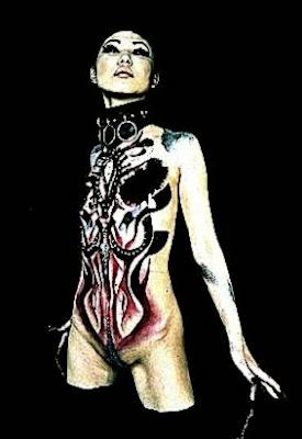 Jajyu   Bodypainter from Japan  I Love Body Art