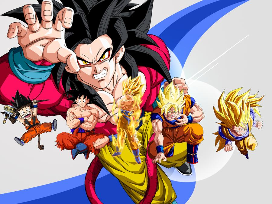 Imagen De Goku Kakaroto Normal Fase 1 Fase Dos Fase 3 Fase: Imagenesde99: Todas Las Imagenes De Goku En Todas Las Fase