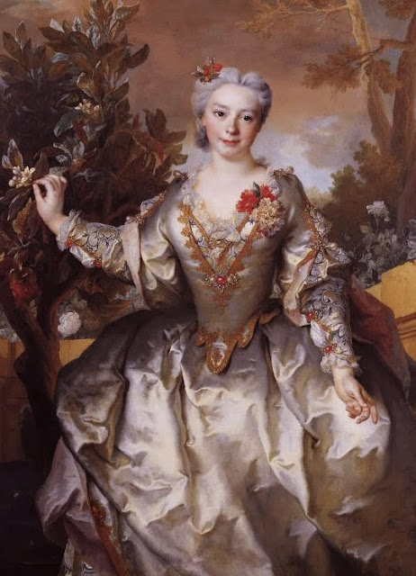 Nicolas de Largillière - Portrait of Louise-Madeleine Bertin, Countess of Montchal