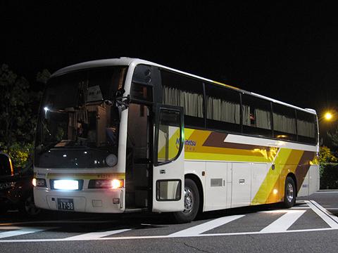 西鉄高速バス「さぬきエクスプレス福岡号」 3270 粒江PAにて