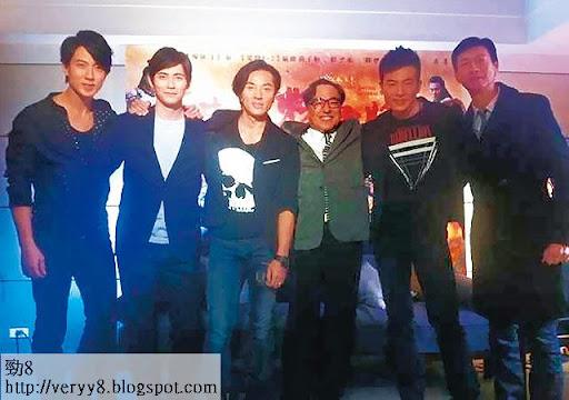 本週二( 26/2),伊健正式復工,到台灣宣傳電影《忠烈楊家將》。