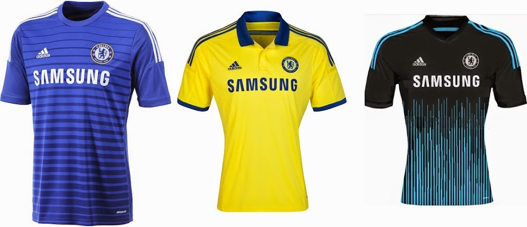 lowest price cf80d 5f9a3 Chelsea 2014-15 Home Away Kit Released - Away Leaked
