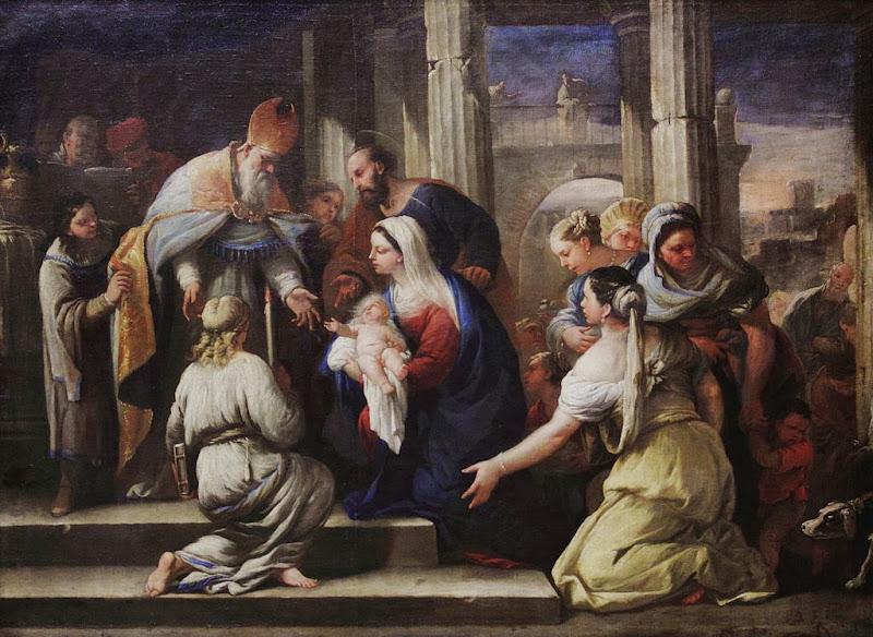 Luca Giordano - La Présentation au temple