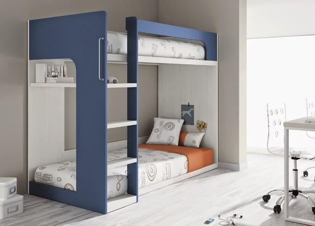 Tipos de camas para dormitorios juveniles - Literas modernas ...