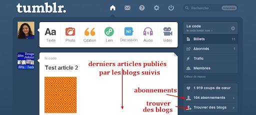 Quand Overblog copie Tumblr