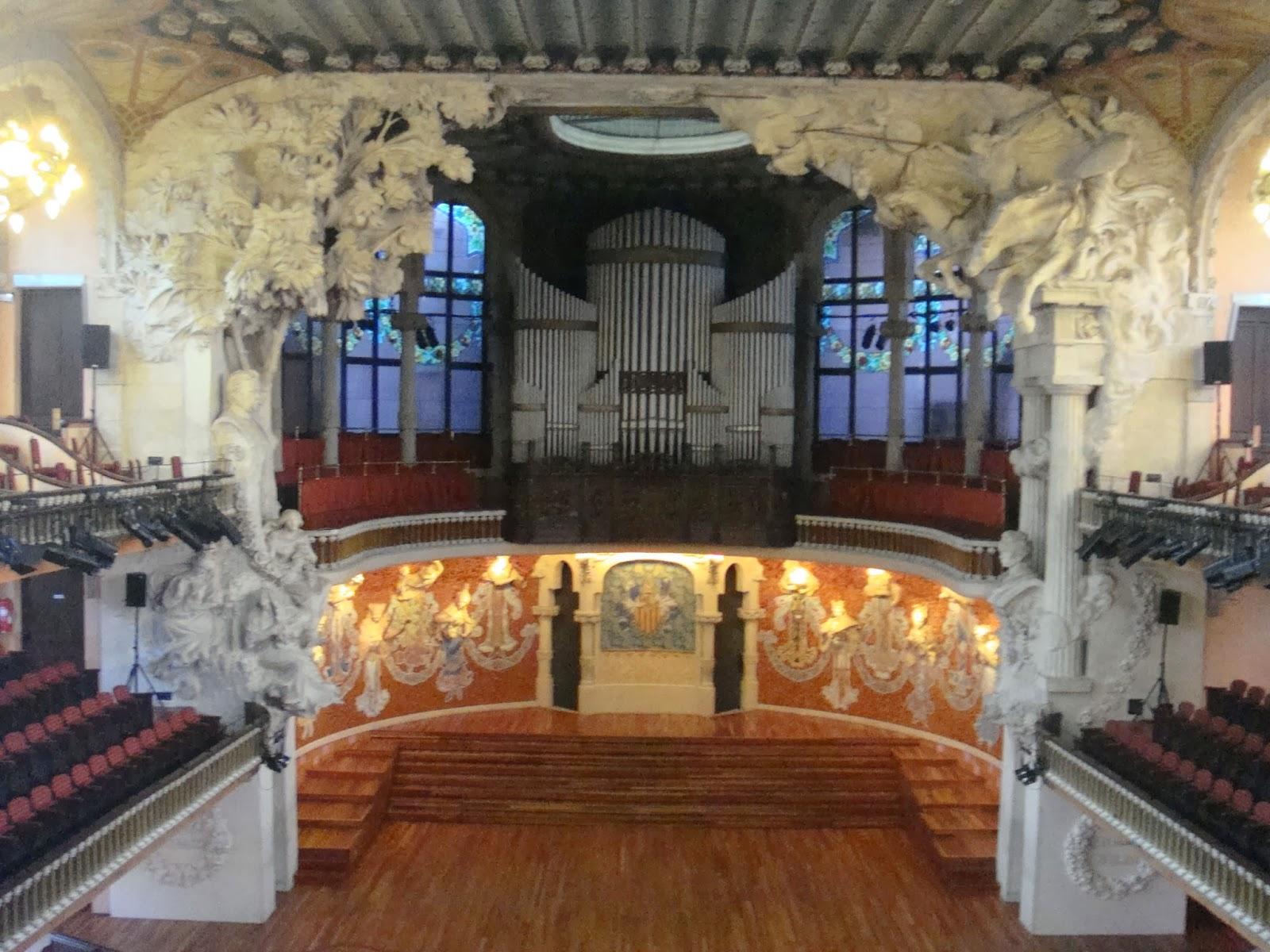 Palau de la Música Catalana enBarcelona
