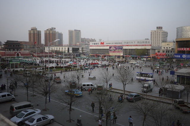 nanmen square in Yinchuan, China