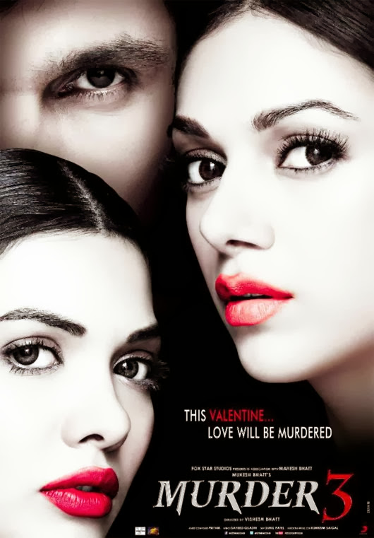 Poster Of Hindi Movie Murder 3 (2013) Free Download Full New Hindi Movie Watch Online At Alldownloads4u.Com