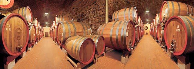 Ξύλινα βαρέλια κρασιού (δρύινα βαρέλια) Garbellotto