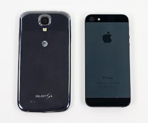 GALAXY S4とiPhone5