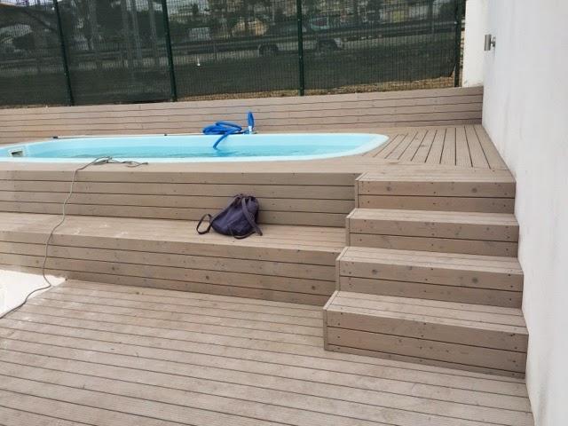 Alba piscinas com piscina marina 2 instalada elevada y for Piscina elevada obra