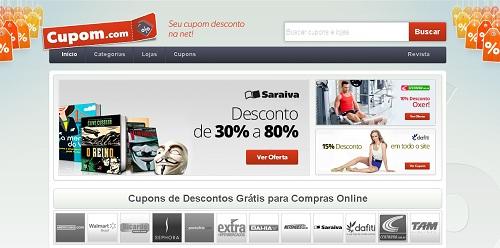 site de cupom de desconto para compras online