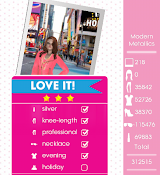 Teen Vogue Me Girl Level 64 - NYE (Modern Metallics) - Chloe - Love It! Three Stars