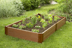 This is not my raised garden bed - it's way too pretty!