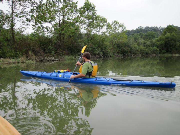 Me and my new kayak