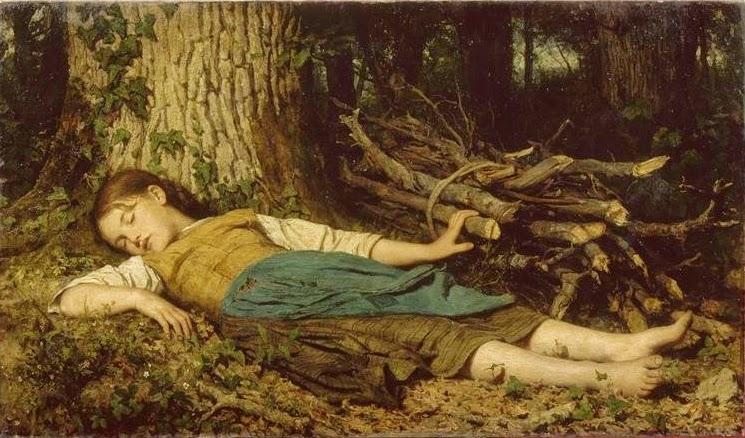 Albert Anker - Im Wald