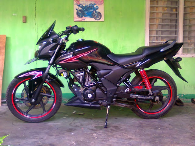 Honda Verza Modifikasi Touring