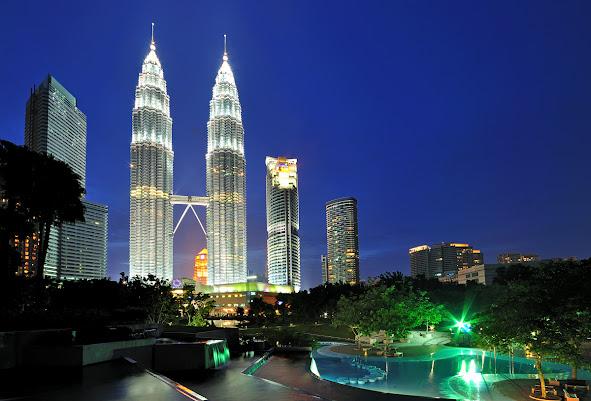 马来西亚的美景 Petronas%2BTwin%2BTower