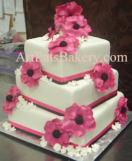 Red And White Wedding Cakes 88 Beautiful Five tiered white fondant