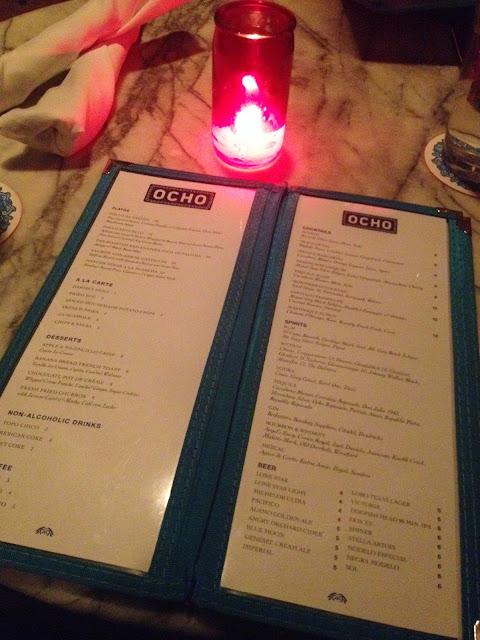 Ocho Havana Hotel romantic restaurant