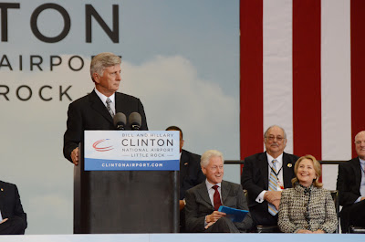 Bill and Hillary Clinton National Airport Dedication
