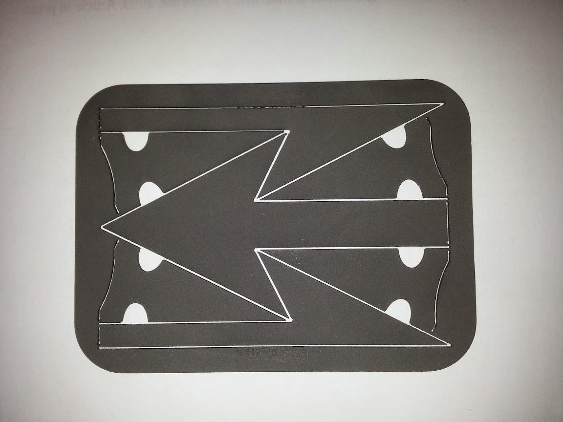 Spear tip arrowcard