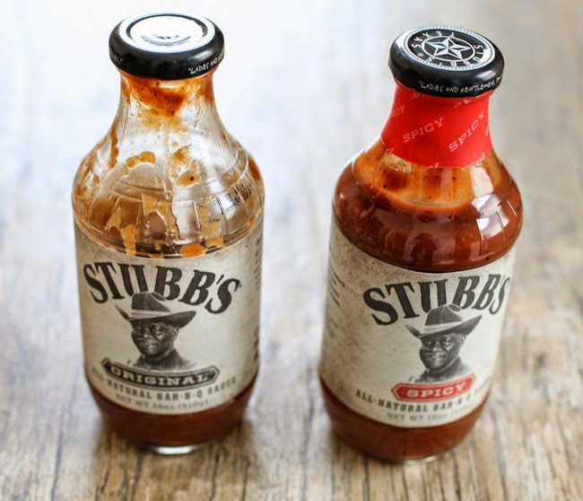 photo of two bottles of bbq sauce