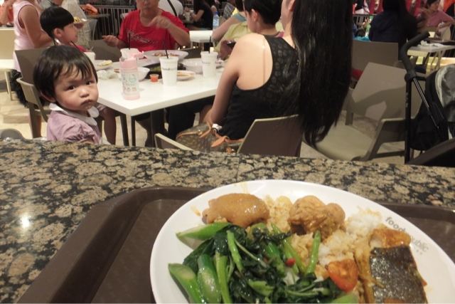malaysia-food マレーシアのフードコート