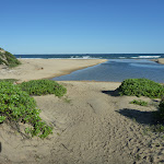 Where Glenrcok Lagoon meets the ocean (339586)