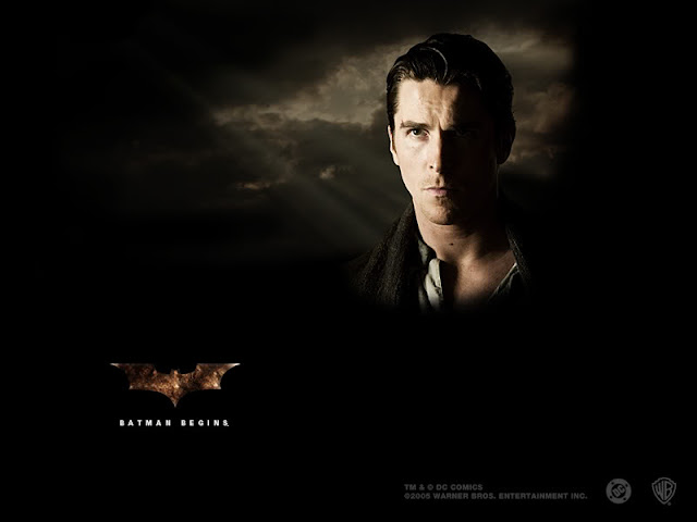 Batman Begins Christian Bale as Bruce Wayne